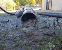 04-05 Ramonage - 04140 Selonnet - Photos de l'entretien de chaudières